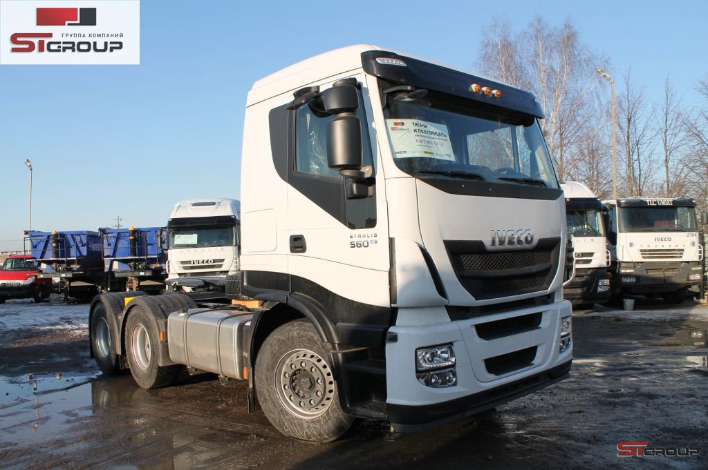 ���� ��������� ����� IVECO Stralis HI-WAY AS440S56TZ/P HM 6x4