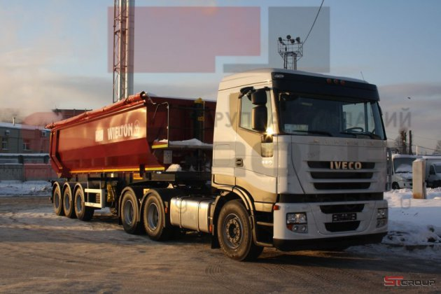 IVECO Stralis AS440S56TZ/P Heavy Mission