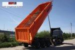 Первая в России поставка самосвального полуприцепа WIELTON NW3S26HP Konisch