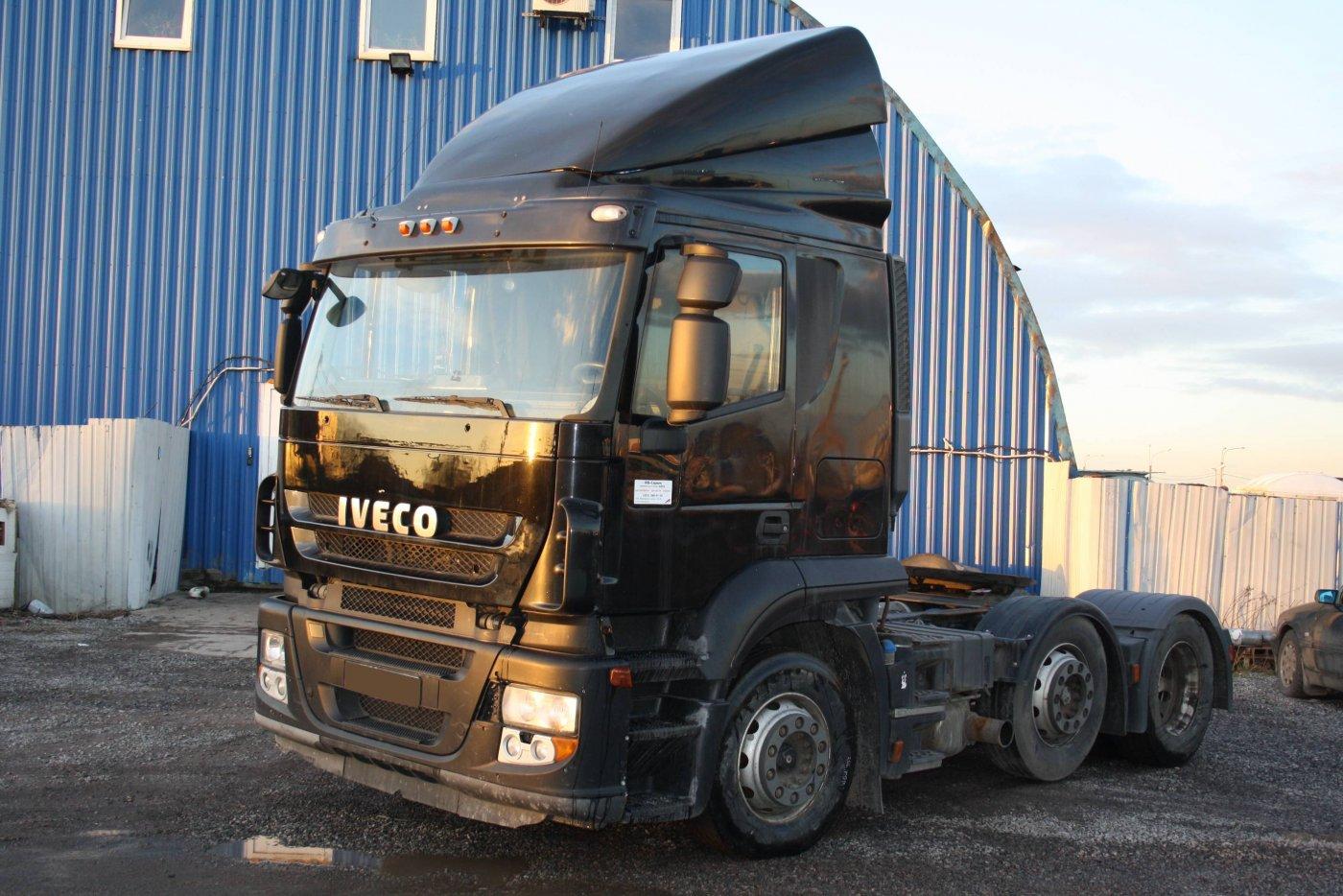 Седельный тягач IVECO Stralis AT440S42TX/P MLR (6x2) 2009 г.