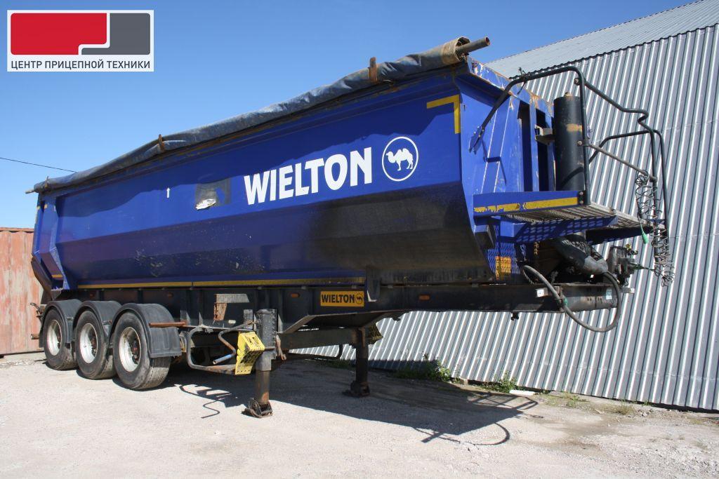 Самосвальный WIELTON NW3S30HP (2013 г.) полуприцеп