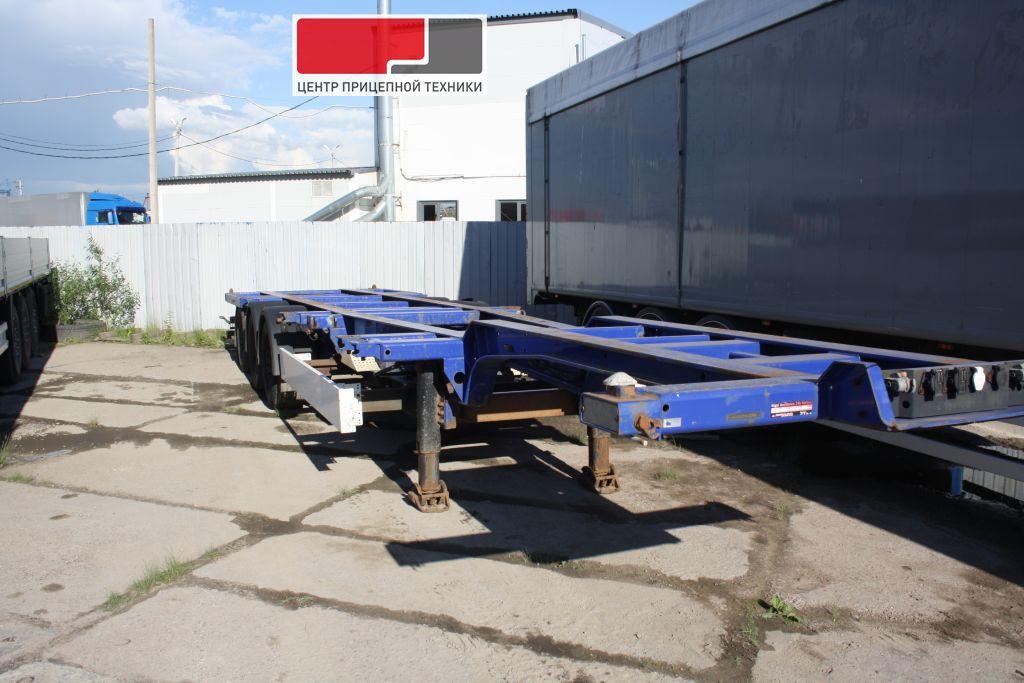 Полуприцеп-контейнеровоз Kogel SW 24 (2008 г)
