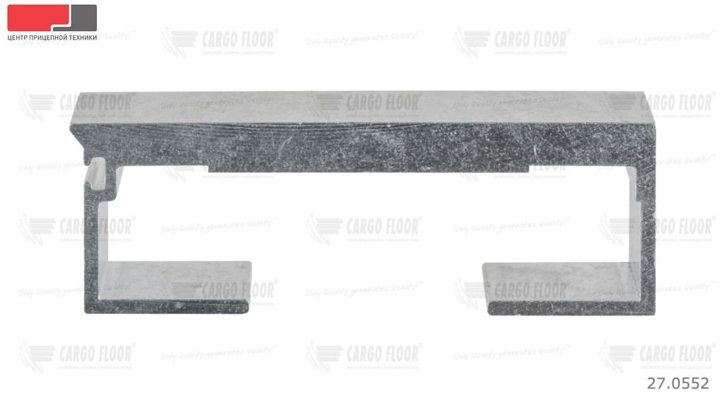 Алюминиевый профиль 10/112 мм. (гладкий)