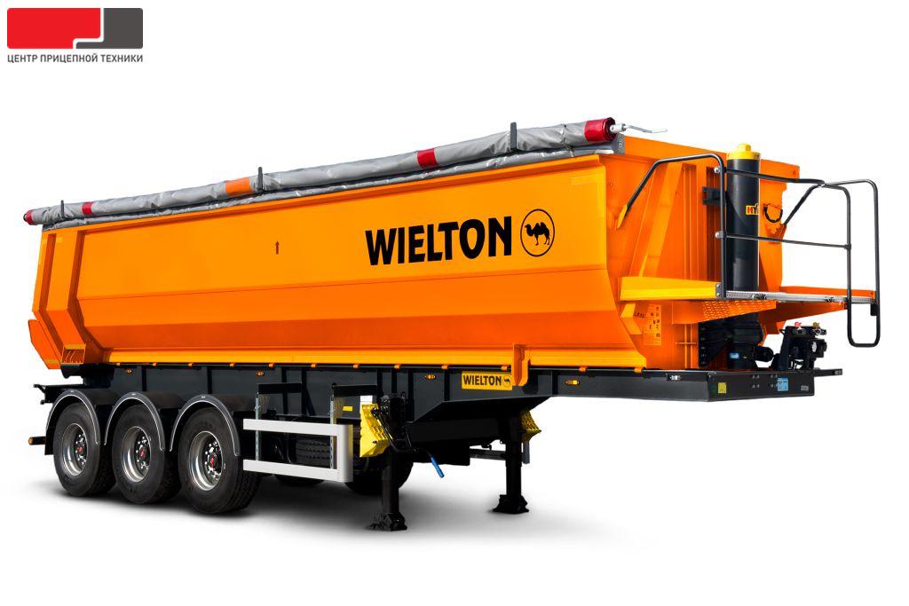 Самосвальный WIELTON NW3S24HP (24 м3) полуприцеп с полукруглым кузовом