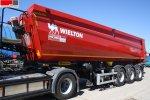 Самосвальный WIELTON NW3S33HP 33 м3/оси 11 т полуприцеп
