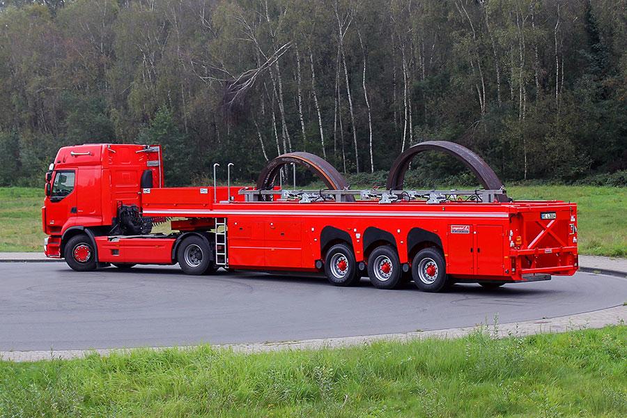 Новинка! Панелевоз - инлоадер  Langendorf Flatliner SB-15-9,5