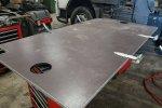 Фанерный настил с функцией поднятия - гидрофикация Binotto под щеповоз